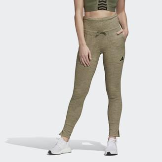 adidas High-Waisted Slim Pants