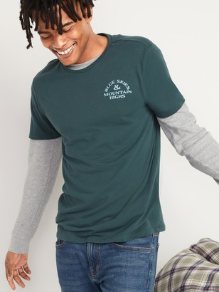 Old Navy Soft-Washed Graphic Tee for Men