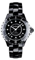 Chanel J12 Diamond, Ceramic & Stainless Steel Bracelet Watch
