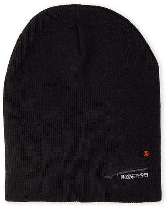 Superdry Knit Embroidered Logo Beanie
