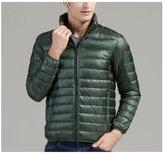 Shuoquan Men's Lightweight Weatherproof Packable Down Jacket XS