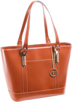 McKlein McKleinUSA Arya Leather Tote with Tablet Pocket