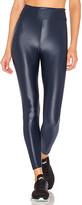 Koral Lustrous High Rise Legging in Blue. - size L (also in M,S)