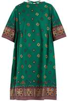 Max Mara Moroccan-print cotton dress