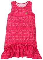 Juicy Couture Floral Print Dress (Little Girls)