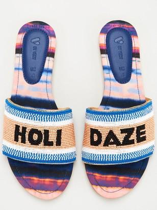 Very Holi-daze Beaded Sandal - Multi