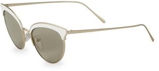 Prada 54MM Retro Cat Eye Sunglasses