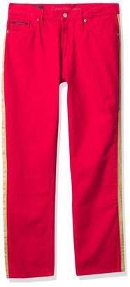 Calvin Klein Jeans Women's High Rise Straight Leg Denim