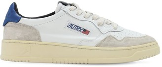 Autry Leather & Suede Low Sneakers