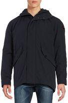 Strellson Franklyn Hooded Qulit-Lined Coat
