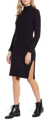 BP Ribbed Long Sleeve Sweater Dress
