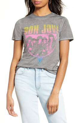Vinyl Icons Bon Jovi Graphic Tee