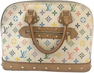 Louis Vuitton Alma Multicolour Cloth Handbags