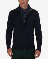 Nautica Men's Multi-Textured Cardigan
