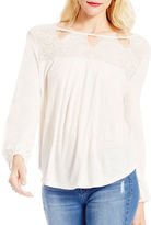 Jessica Simpson Fifi Long Sleeve Lace Top
