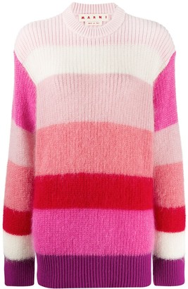 Marni Striped Pattern Jumper