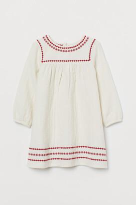 H&M Cotton Dress - Beige