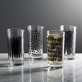 Crate & Barrel Kinzey Tumblers, Set of 4