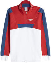 Reebok Zipped Cotton Pullover