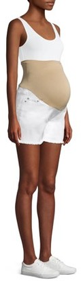 Time and Tru Maternity Cutoff Jean Shorts - Available in Plus Sizes