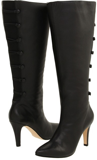 Ros Hommerson Tanya - Wide Wide (Black Softy Calf/Gore) - Footwear