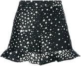 RED Valentino stars print shorts - women - Polyester - 40