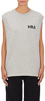 Hood by Air Women's Logo-Embroidered Cotton Tank-GREY