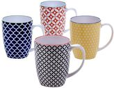 Certified International Chelsea 4-pc. Coffee Mug Set