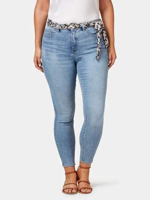 Jeanswest Delevine Curve Mid Waisted Skinny Ankle