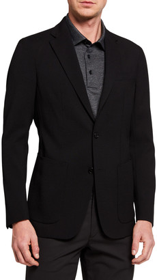Theory Men's New Chambers Seersucker Two-Button Jacket