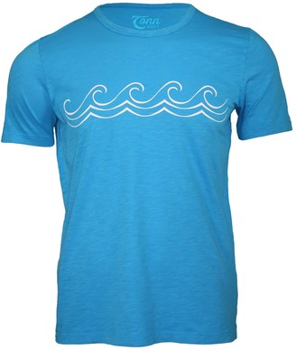Celtic Tonn Wave Tee Bright Blue