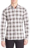 Tomas Maier Twisted Light Tartan Shirt