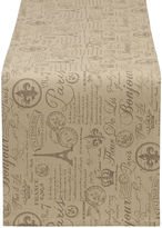 DESIGN IMPORTS Design Imports French Flourish Printed Table Runner