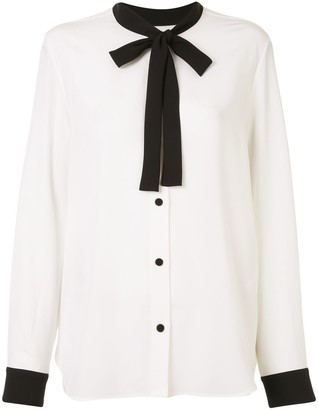 Ports 1961 Tied Neck Blouse