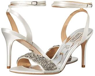 Badgley Mischka Jen (Soft White) Women's Shoes