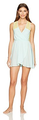 Betsey Johnson Women's Chiffon and Lace Slip