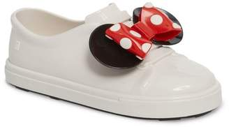 Mini Melissa Disney(R) Be Minnie Slip-On Sneaker (Toddler)