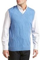 Alex Cannon V-neck Sweater Vest.