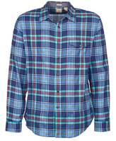 Dockers THE TWILL WRINKLE SHIRT Blue