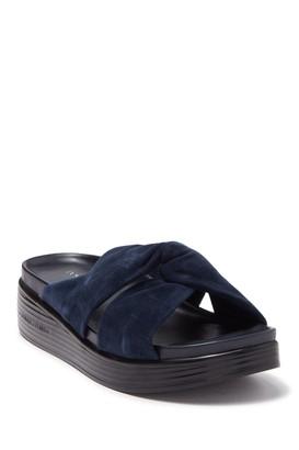 Donald J Pliner Freea Knot Platform Sandal