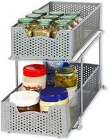 Simple Houseware SimpleHouseware 2 Tier Sliding Cabinet Basket Organizer Drawer
