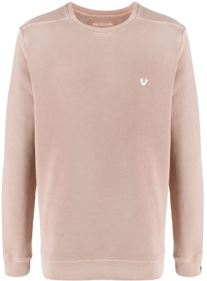 True Religion Logo Crew-Neck Sweatshirt