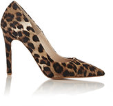 Barneys New York WOMEN'S LEOPARD CALF HAIR VIOLA PUMPS