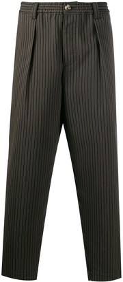 Marni Striped Knit Suit Trousers