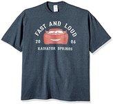 Disney Men's Cars Fast and Loud 2006 T-Shirt