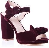 Oasis Vixen Velvet Bow Heel