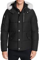 Moose Knuckles 3Q Fur Trim Hooded Down Jacket