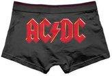 Unknown Men's Stretch Underwear Boxer Briefs ACDC Band Logo