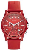 Armani Exchange AX1328 Nylon and Silicone Watch