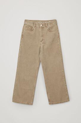 Cos Organic Cotton Straight Jeans
